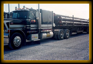 Oklahoma Pipe Truck